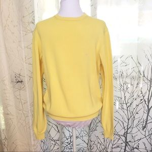 Burberry yellow sweater